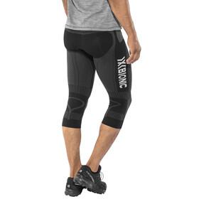 X-Bionic The Trick - Pantalones cortos running Hombre - gris/negro